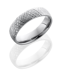 Titanium 6mm Domed Band