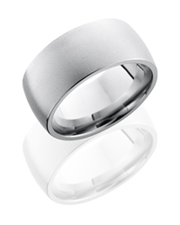 Cobalt Chrome 10mm Domed Band