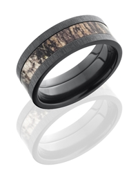 MOSSYOAK® Black Zircon Cross Satin Black CAMO Band.